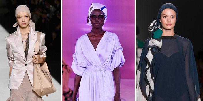 foulard femme a la mode