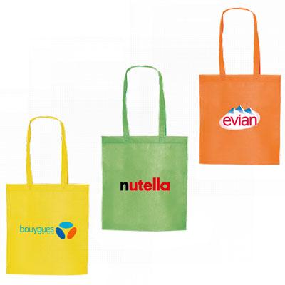 Tote bag publicitaire : un objet innovant pour courses