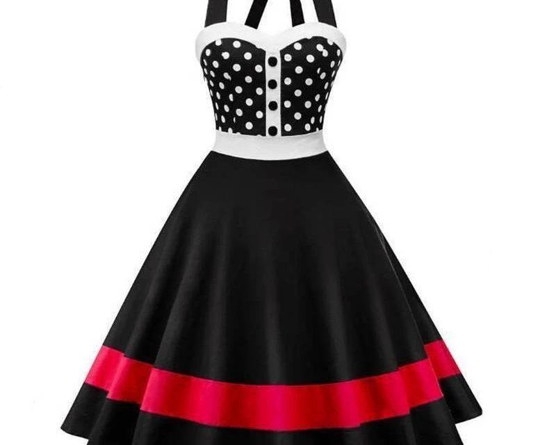 La robe à pois est-elle à la mode?