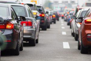 Traffic de la route