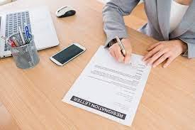 Comment rédiger votre lettre de démission